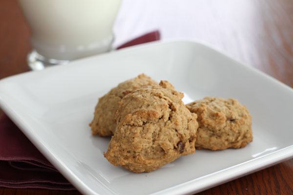 Oatmeal-Applesauce-Cookies