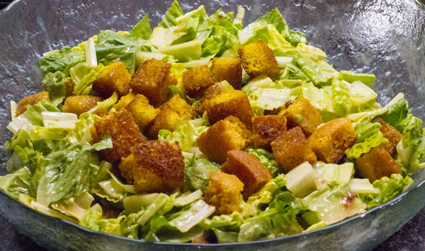Spicy-Caesar-Salad